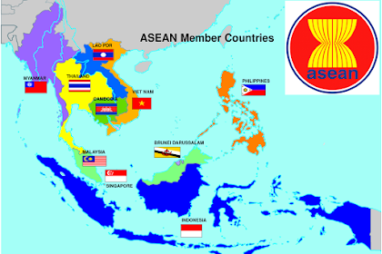 Profil 10 Negara ASEAN Beserta Ibukota, Bendera. Lambang Negara