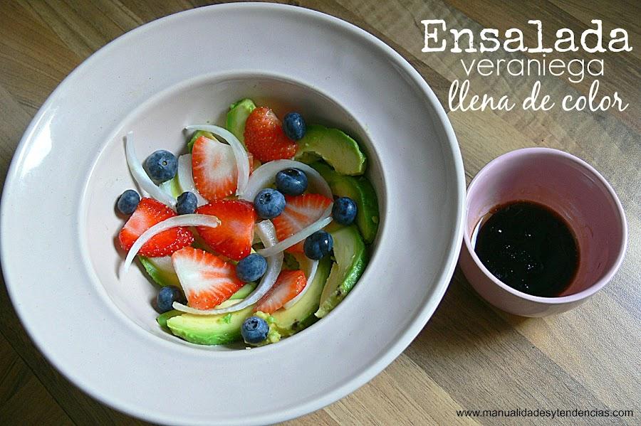 Receta de ensalada salada y dulce