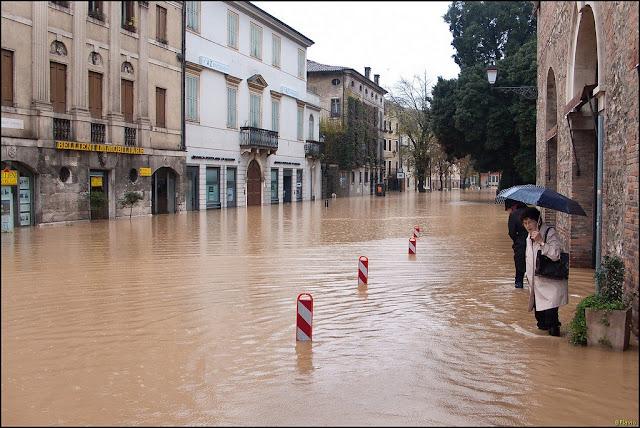 Alluvione a Vicenza, 1 novembre 2010
