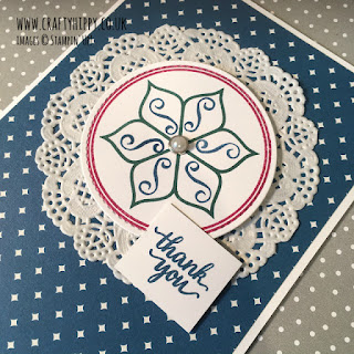 How to make a card with the Eastern Beauty Stamp Set by Stampin' Up!