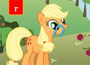 Applejack Horseshoe Toss juego