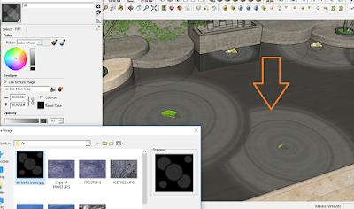 cara setting material air di vray sketchup,vray editor material air