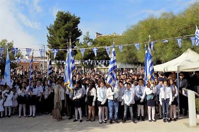 Με λαμπρότητα και επισημότητα ο εορτασμός της Επετείου της 28ης Οκτωβρίου στη Δημοτική Ενότητα Ζεφυρίου