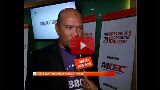 Majlis Sepetang Bersama Blogger Astro Awani
