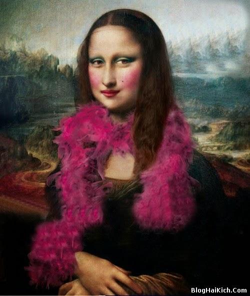 ảnh chế nàng Mona Lisa - Tranh 9