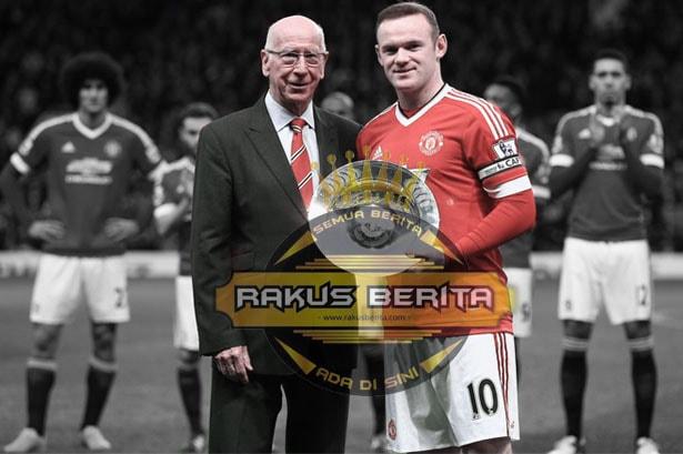 Sudah Buat 249 Gol, Rooney Kali ini Selevel Dengan Bobby Charlton