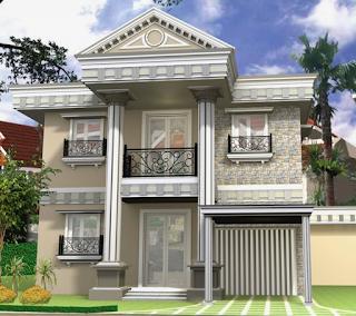 Kesan Mewah Pada Rumah Gaya Klasik 5
