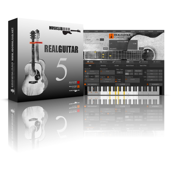 MusicLab RealGuitar v5.0.2.7424 Full version