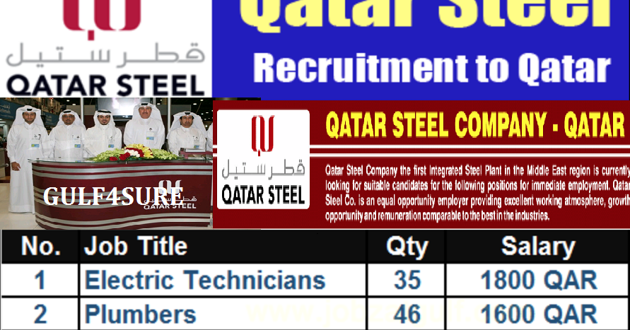 LATEST QATAR STEEL RECRUITMENT - NO CHARGES, APPLY NOW! - AMERICAN