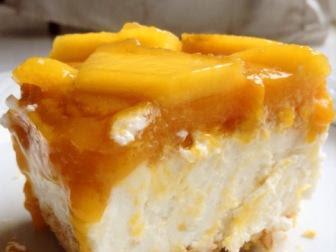 Membuat Mango Cheesecake Tanpa Dipanggang