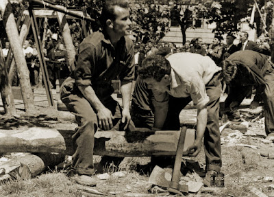 Concurso de entibadores en Barruelo de Santullán