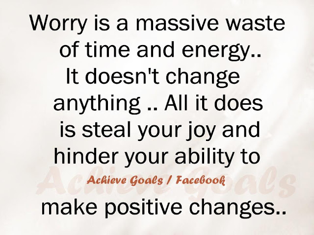 Love Life Dreams: Worry Is A Massive Waste Of Time And