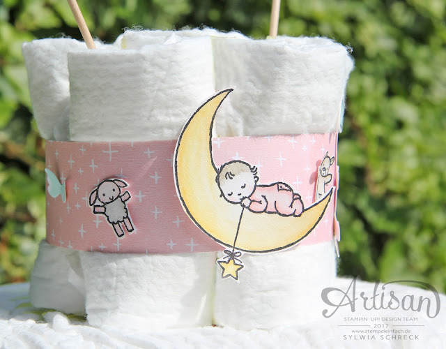 Stampin Up-Moon Baby