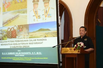 Ketua DPR Dorong Gresik Ciptakan Kawasan Pangan Mandiri