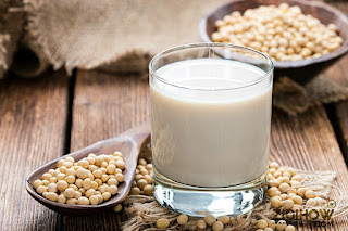 HOW TO PREPARE SOYA MILK BEANS 1
