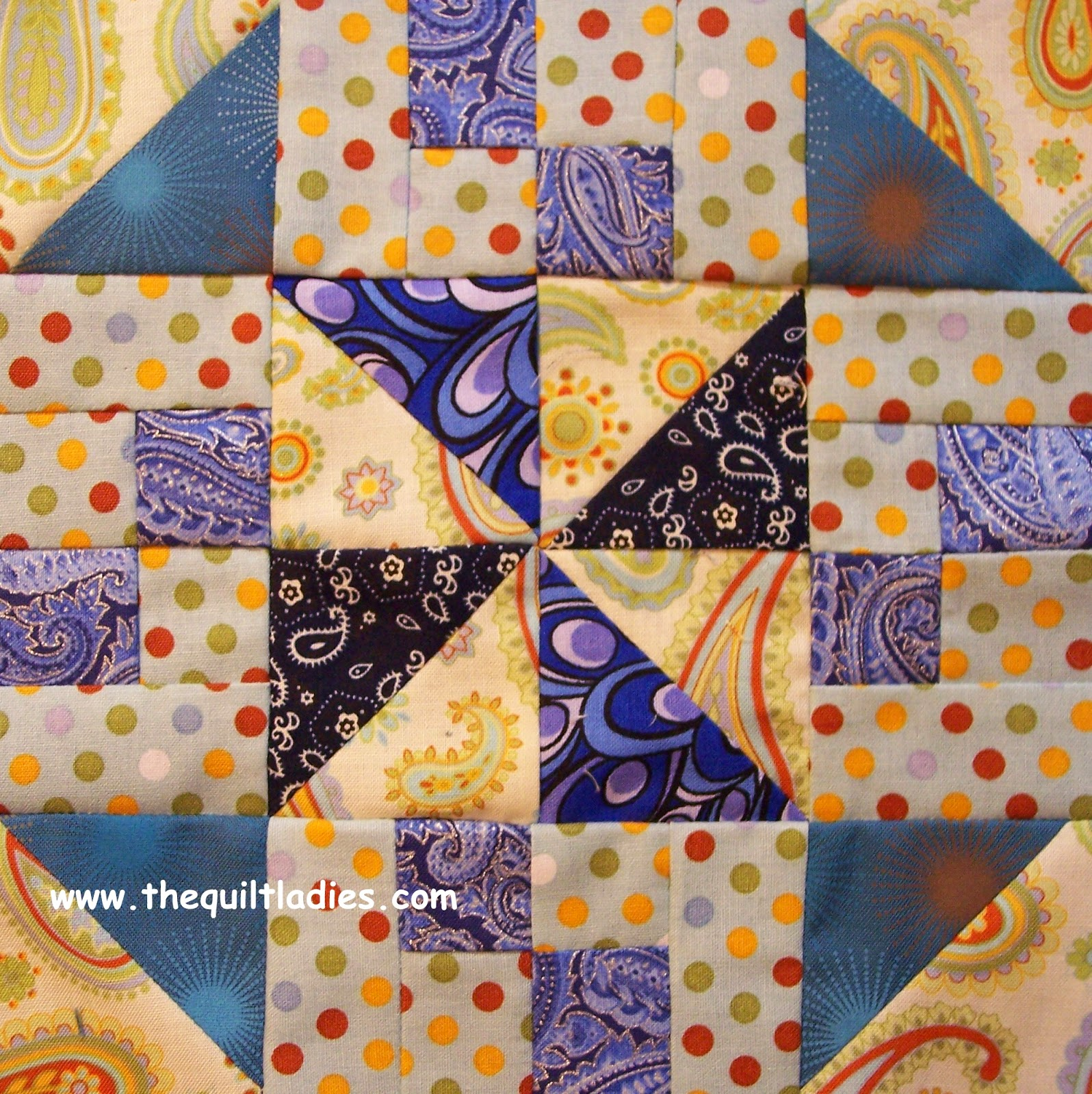 free triangle quilt block