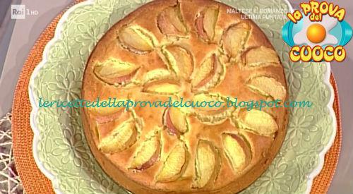 Torta soffice di pesche e limoncello ricetta Moroni da Prova del Cuoco