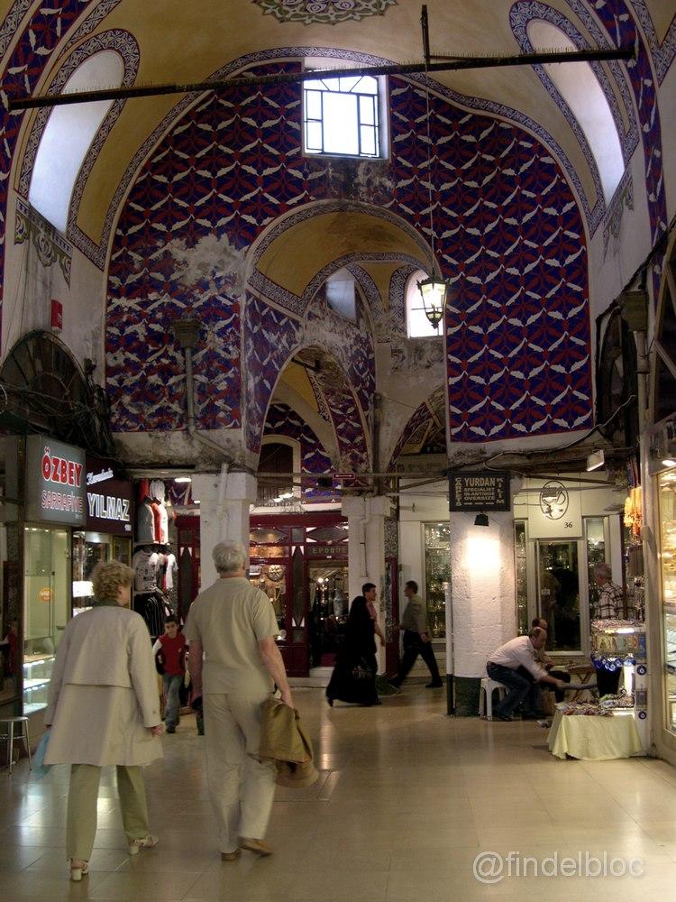 findelbloc arquitectos gran bazar istanbul