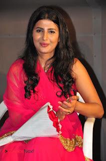 Actress Raj Shri Poonnappa Stills in Pink Dress at Mental Police Trailer Launch BollywoodGossip 0003.JPG