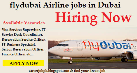 Fly Dubai Airline jobs in Dubai