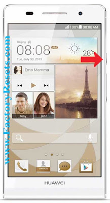 Soft Reset Huawei Ascend P6 S
