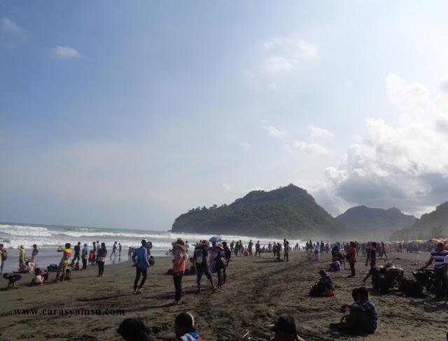 Pantai Suwuk Kebumen Jawa Tengah