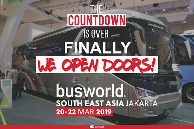 Comenzó Busworld en Yakarta capital de Indonesia