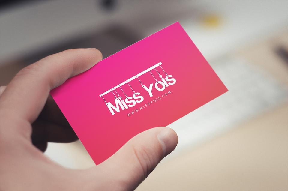 Tarjetas Personales - Miss Yois