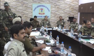 border-police-meeting-for-election-in-jamshedpur