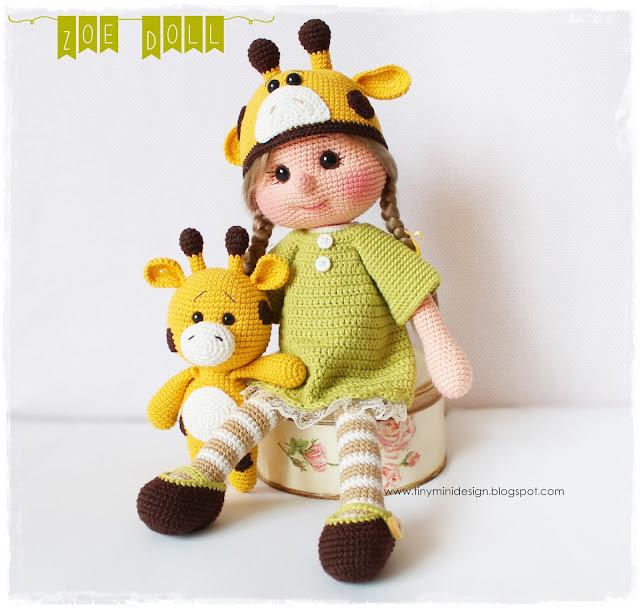 Amigurumi Zoe Doll