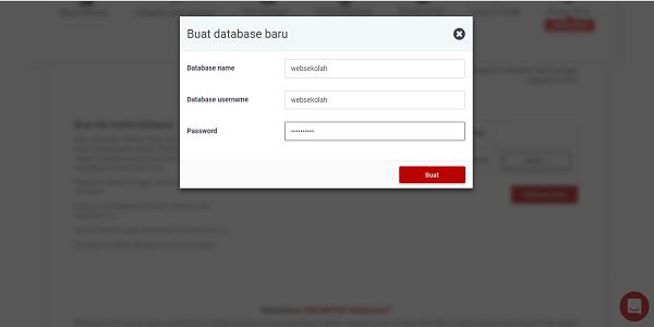 cara kelola database di000webshost