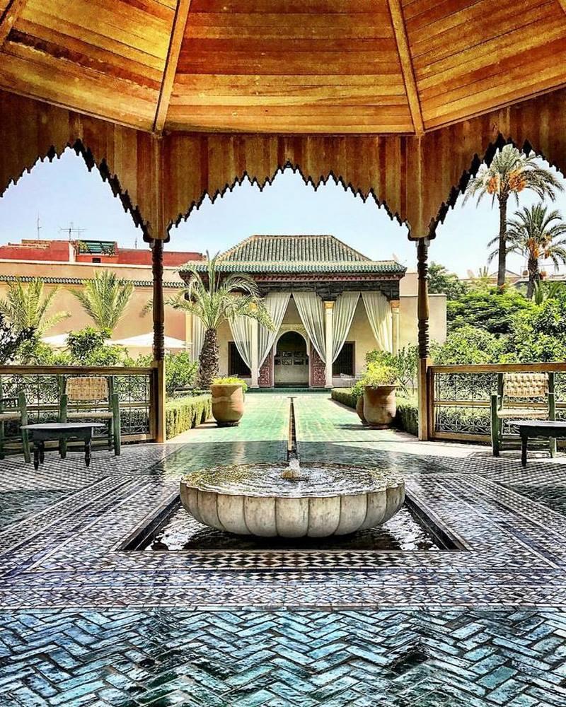 Le jardin secret en marrakech for Le jardin secret chicha