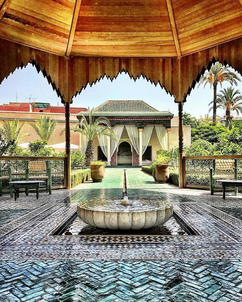 Le jardin secret en marrakech for Le jardin secret