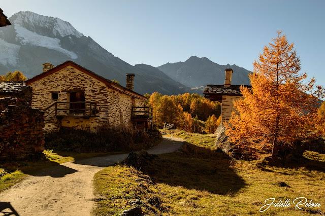 L'automne et la montagne