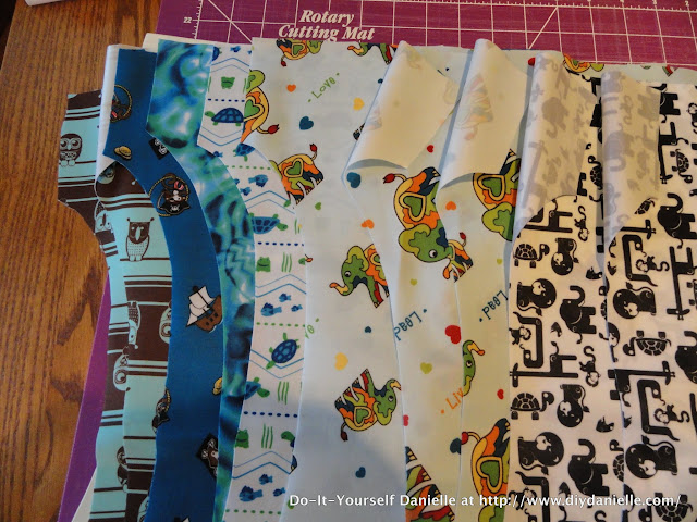 How to sew cloth diapers in bulk: a time and cost analysis.