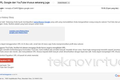 Cara Mendapatkan URL Khusus Google Plus dan Youtube