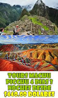 tour machu picchu montaña de 7 colores