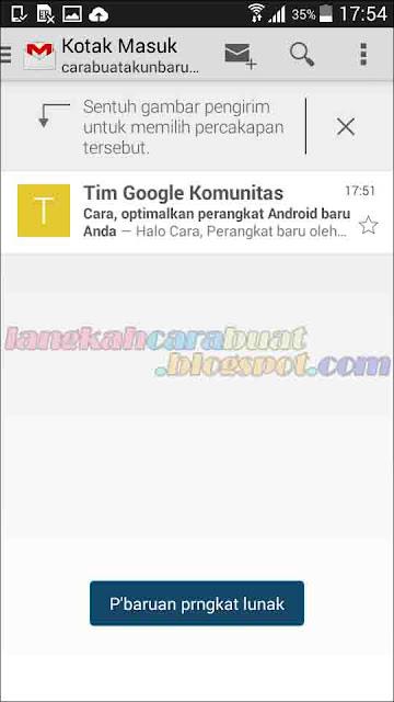 Langkah Langkah Membuat Email Baru di Google