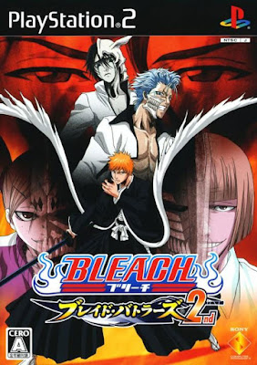 Bleach Blade Battlers 2nd PS2 GAME ISO