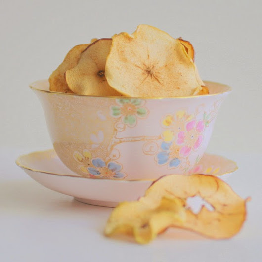 Something From Nothing: Crispy Apple Chips