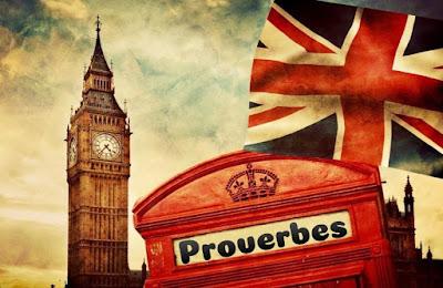 Cabine de proverbe rouge en Angleterre.