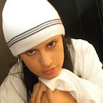 Andrea Rincon, Selena Spice Galeria 19: Buso Blanco y Jean Negro, Estilo Rapero Foto 92