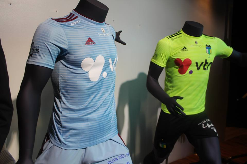 I COLORI DEL CALCIO  nueva camiseta oficial O Higgins FC 2018 Adidas bd7b12d612ee1