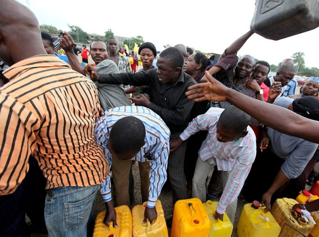 fuel scarcity ekiti state