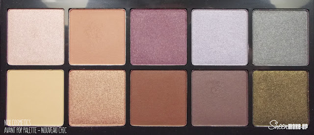 Avant Pop! Shadow Palette - Nouveau Chic