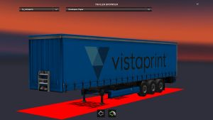 Standalone Vistaprint Trailer