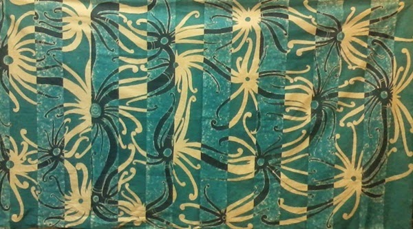 Batik Tulis Halus Motif Dayak Sulur Paut 2