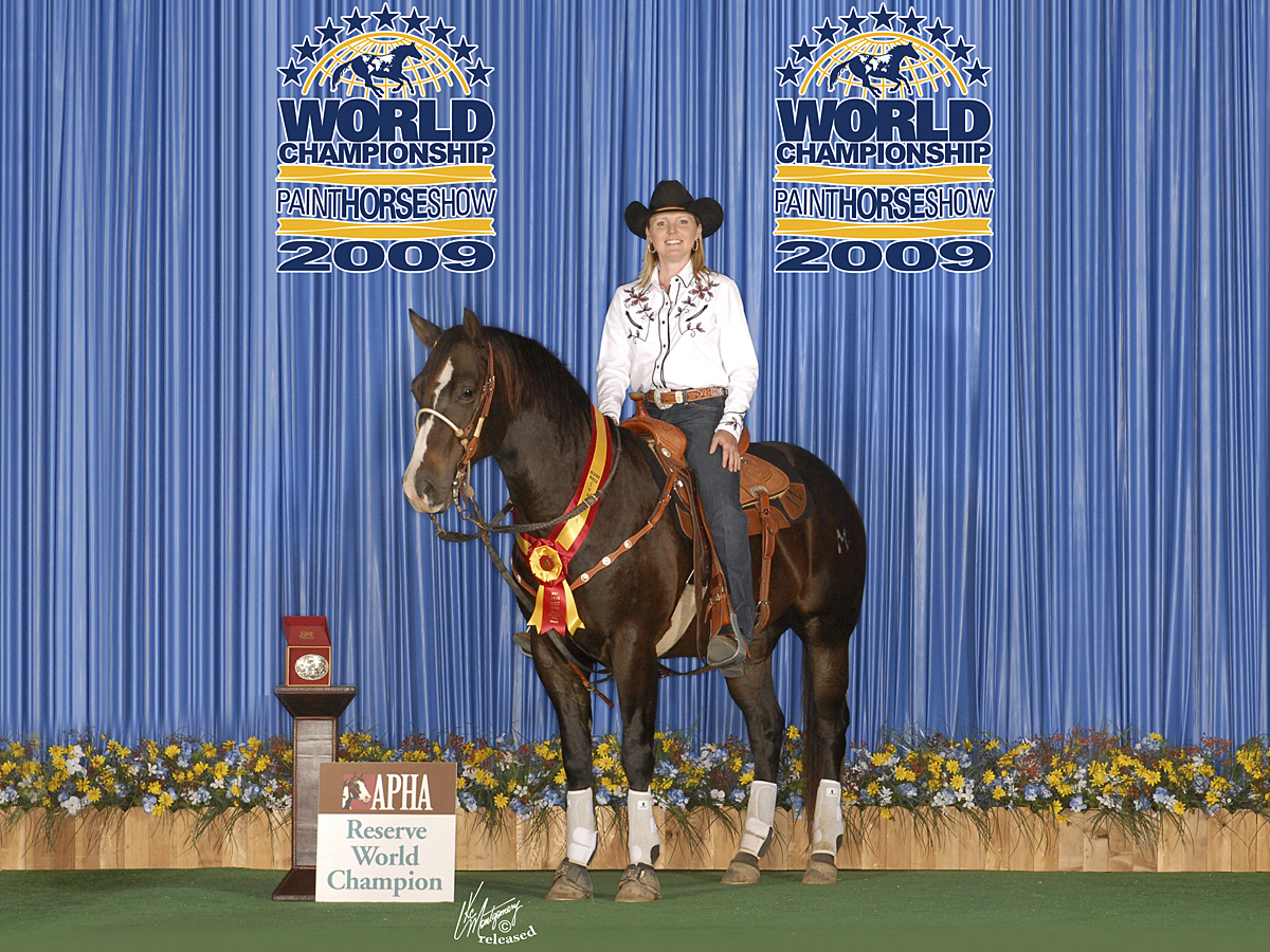 2009 APHA Reserve World Champion