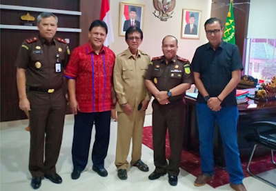 Ika Unila dan Kafe Lampung Silaturahmi ke Kejati