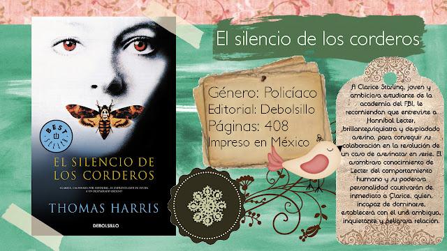 El silencio de los corderos - Thomas Harris